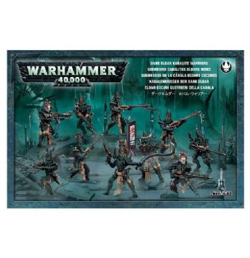 Games Workshop Warhammer 40000 40K Dark Eldar Kabalite Warriors 45-07